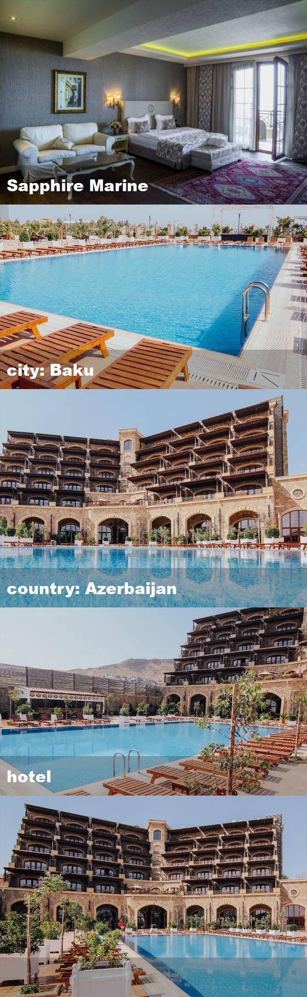 Sapphire Marine City Baku Country Azerbaijan Hotel Hotel Marine Mansions