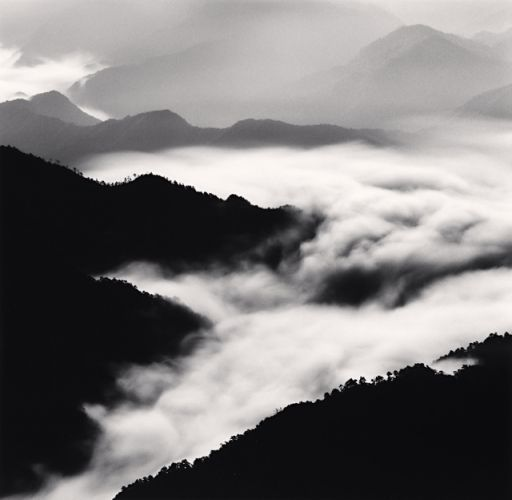 Huangshan Mountains, Study 40, Anhui, China, 2010 by Michael Kenna