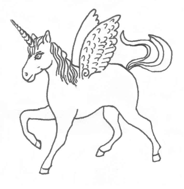 Horse Coloring Pages - Preschool and Kindergarten | Outlines ...