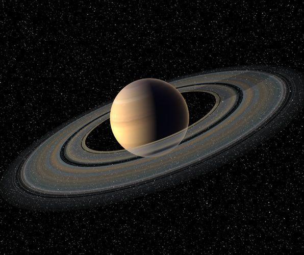 Saturn 3d