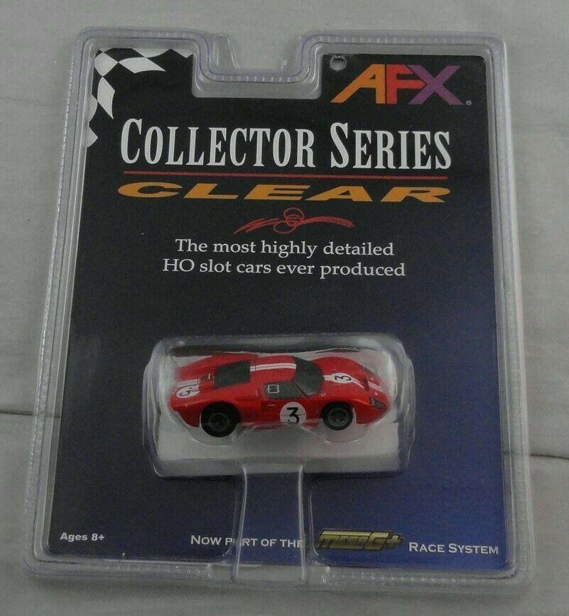 link) HO Slot Car 1966 Ford GT40 Lemans (Gurney/Grant) Mega-g AFX21032 Collector $164.02(eBay link)