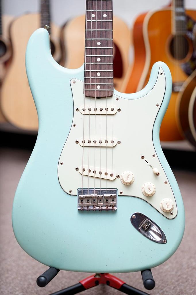 Fender Custom Eric Clapton Stratocaster 2010 Daphne Blue Ltd Edition Todd Krause Masterbuilt