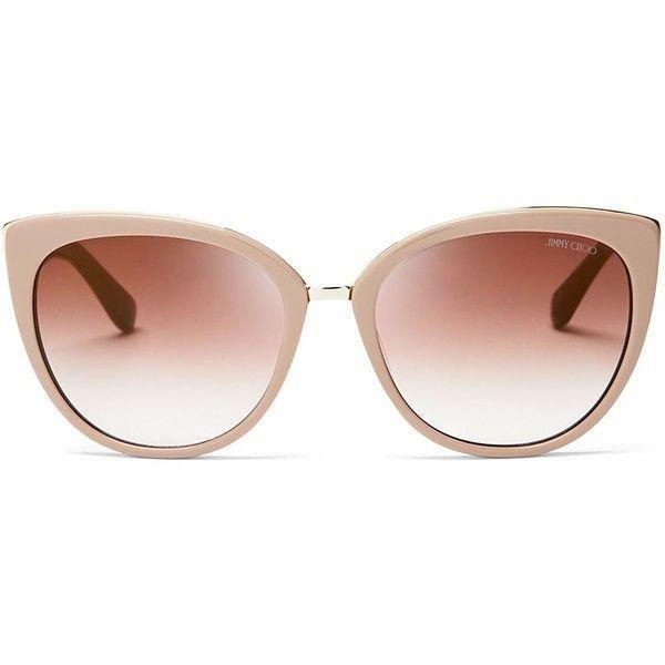 dcbece91571 Jimmy Choo Mirrored Dana Cat Eye Sunglasses