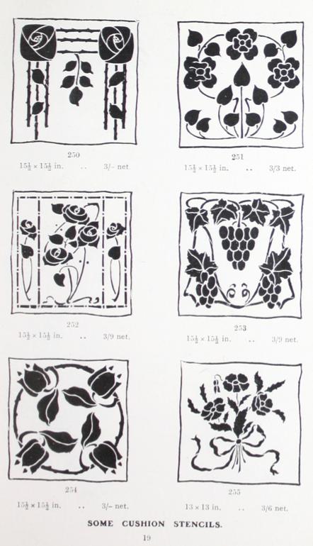 Laurelhurst Craftsman Bungalow: 1910s Stencil Designs