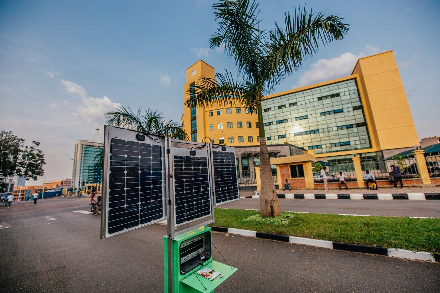 Solar-Powered Kiosks Are Helping Rwandans Power Their Phones and Stay Connected #alternativeenergy