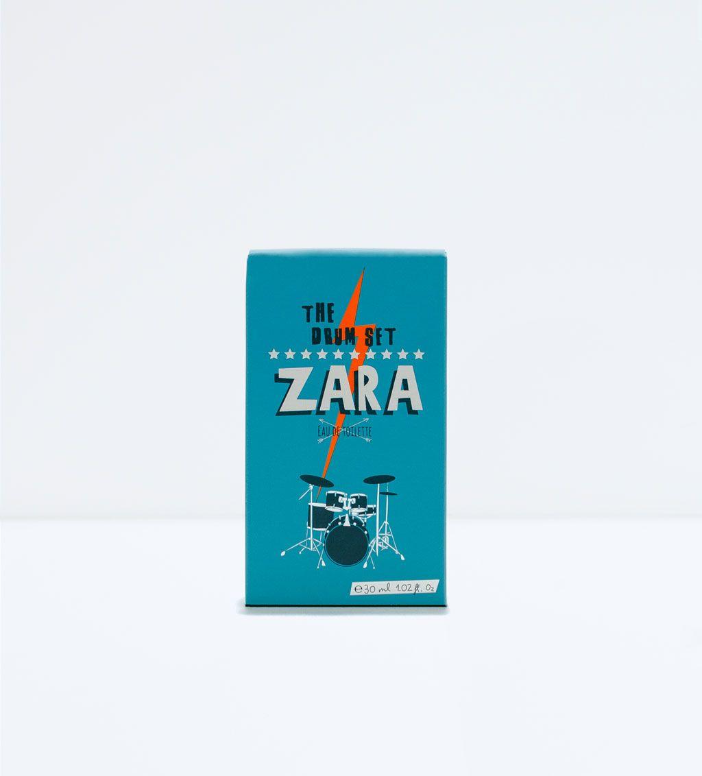 Image 2 Of The Drum Set Zara Eau De Toilette 30ml From Bos  Charlie White 100ml Sets