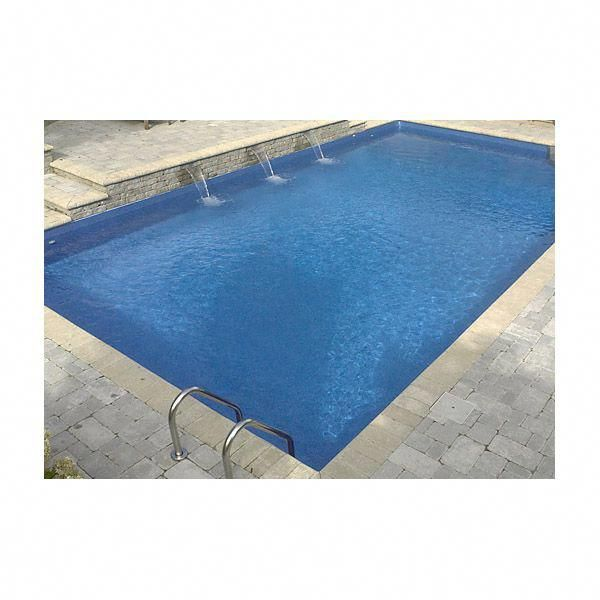 14 X 28 Ft Rectangle 6 Inch Round Corners Inground Pool