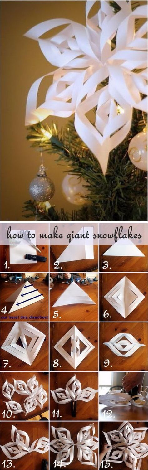 Awesome DIY Christmas Tree Topper Ideas  Tutorials Paper