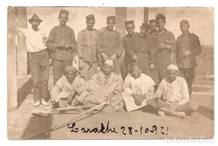 Militares. Guerra de Africa. Larache 1921 - Foto 1
