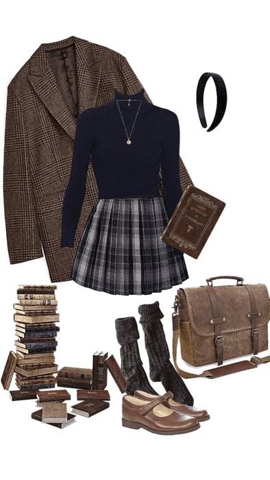 Dark Academia Aesthetic Clothing