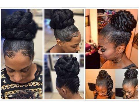 Youtube Kanekalon Hairstyles Hair Styles Natural Hair Styles