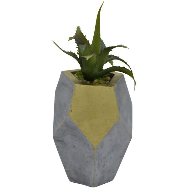 Three Hands Corp Decorative Faux Plant ($8.99) ❤ Liked On Polyvore  Featuring Home,