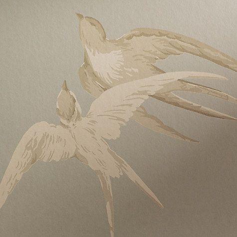 Buy Sanderson Swallows Wallpaper Online at johnlewis.com