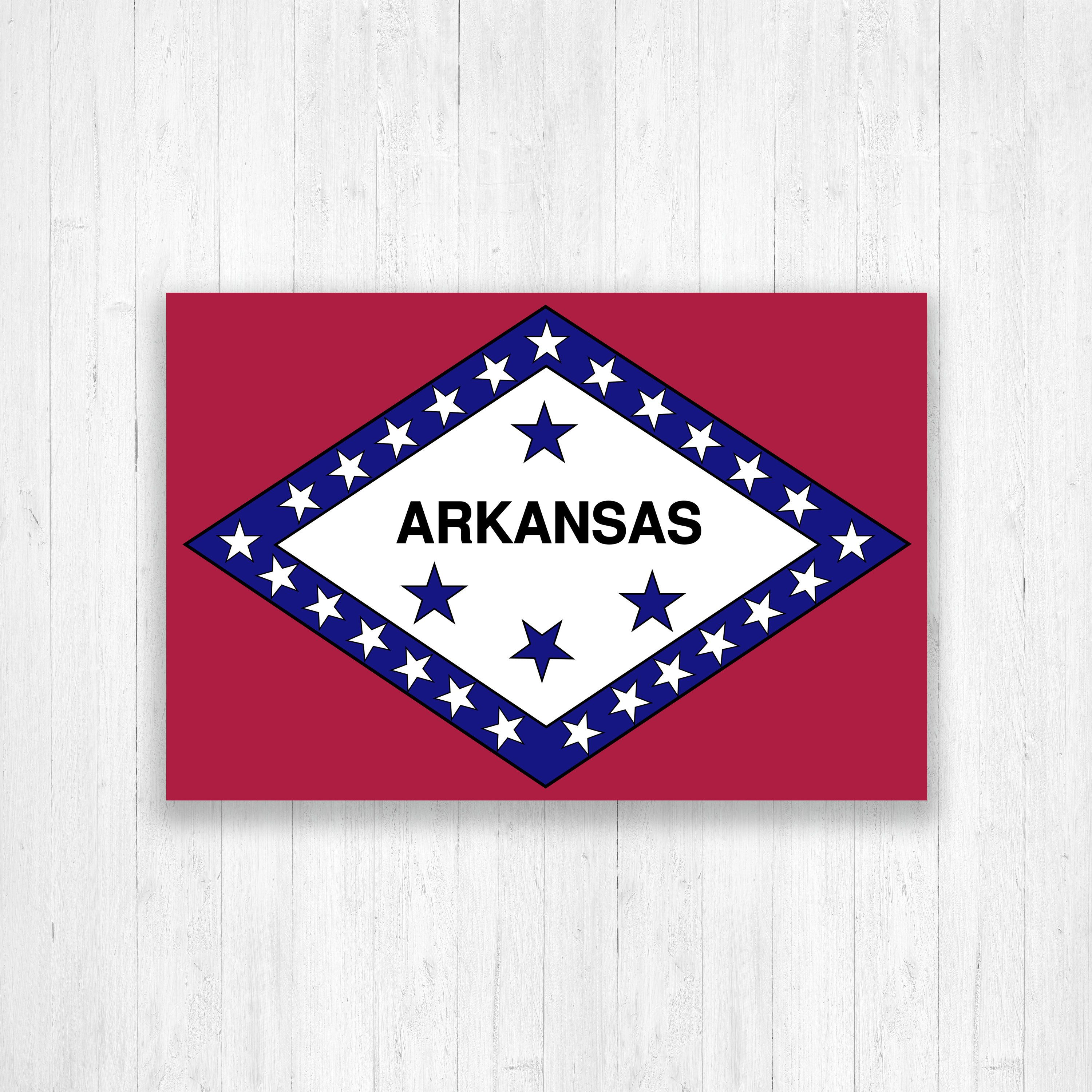 Arkansas State Flag Image