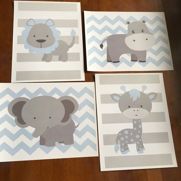 For Sale: Baby Nursery Wall Decor for $10