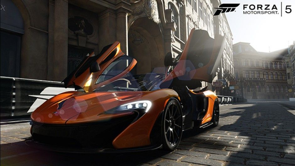 McLaren P1 - Forza Motorsport 5 Launching On The New Microsoft Xbox One. Looks as good as the real thing!