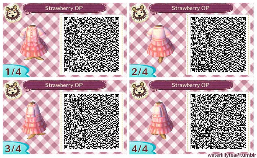 Summer dress girl pattern qr