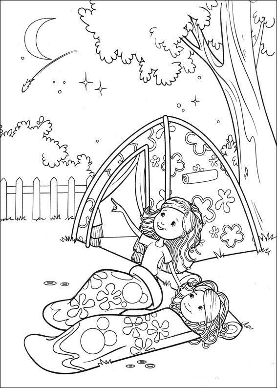 Groovy Girls Målarbilder för barn. Teckningar online till