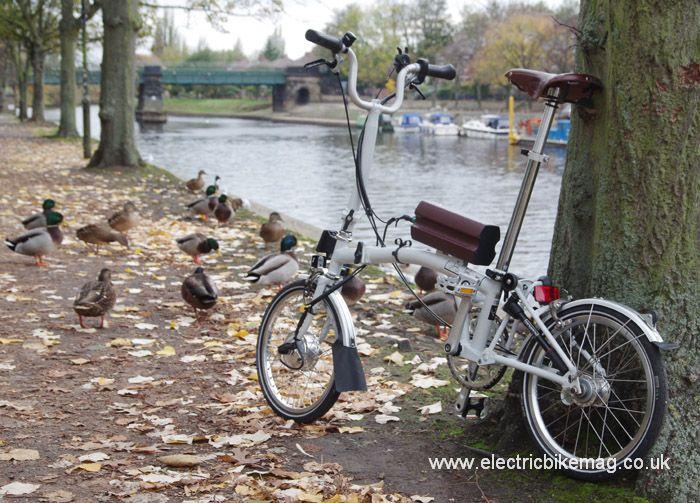 Bespoke E Bikes Converted Brompton Urban Bicycle Brompton Urban Bike
