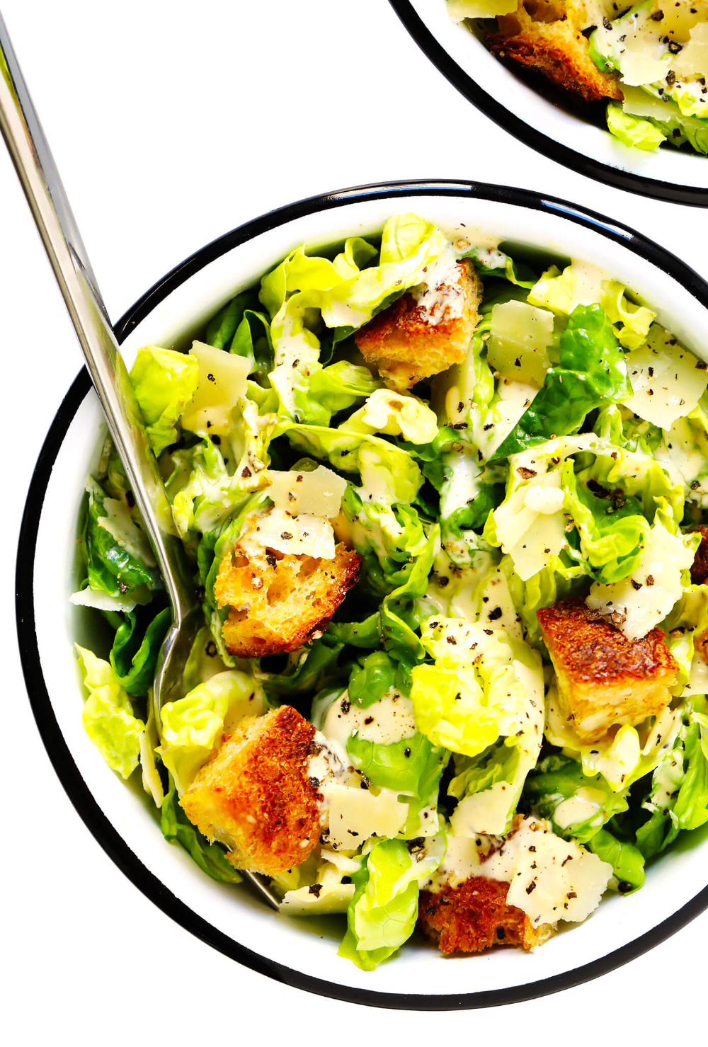 The Best Caesar Salad Recipe Gimme Some Oven Recipe Caesar Salad Recipe Salad Recipes Caesar Salad