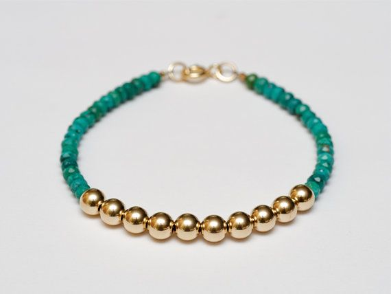 Fine Jewelry Womens Multi Color Pearl 14K Gold Beaded Bracelet AWXQIgF