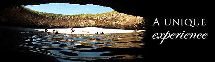 Yubarta Expeditions   Islas Marietas Tour. includes playa del amor hidden beach and snorkel gear