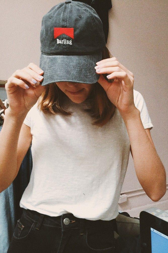 f9daf190 Brandy ♥ Melville | Katherine Darling Cap - Accessories | style ...