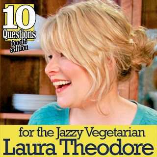 The Vegan Street Blog from the Vegan Feminist Agitator: !0 Questions: Vegan Foodie with Laura Theodore...