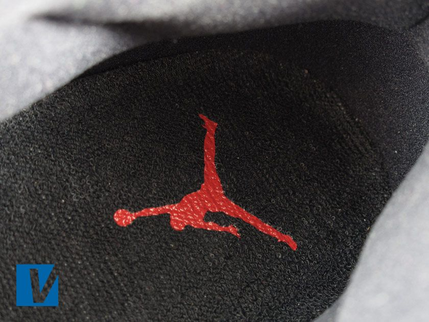 New Jordan 11 s will feature the Jumpman logo printed on the insole. Older  models may 542a6e8e1