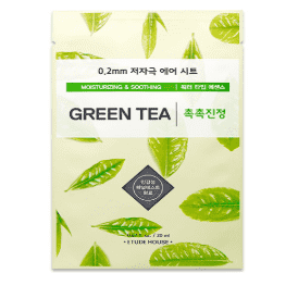 Photo of Etude House 0.2mm Therapy Air Mask #Green Tea