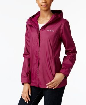 d6c6959eb9bb0 Columbia Women s Omni-Tech Arcadia Ii Rain Jacket - Yellow L ...