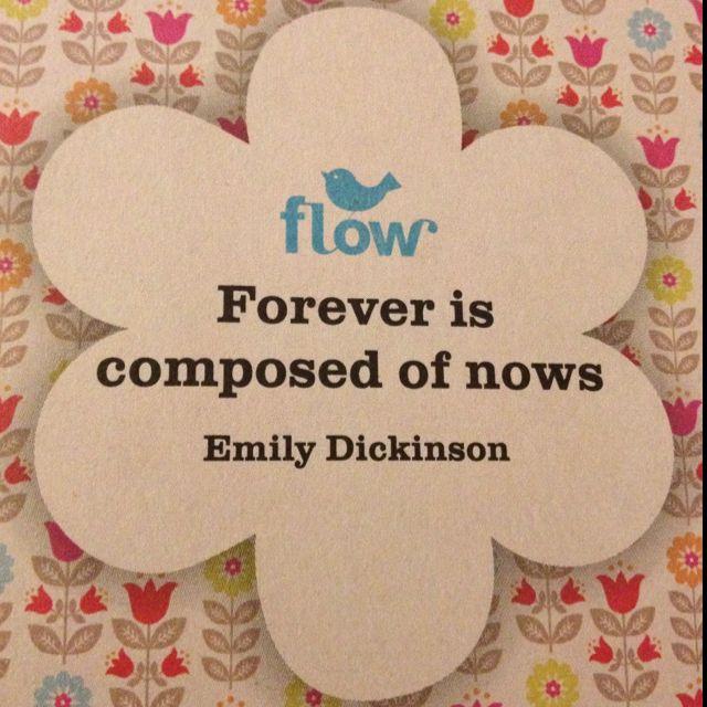Emily Dickinson in Flow