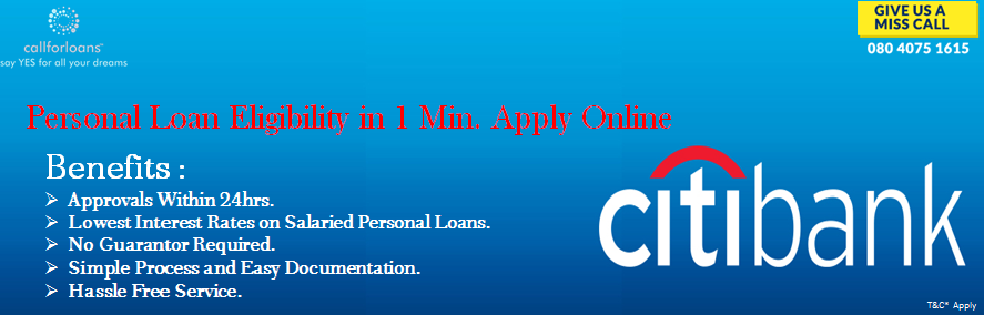 It Is Easy To Avail The Lowinterestpersonalloans From Citibank In Bangalore To Clear Your Unexpected Expenses With Callforl Personal Loans How To Apply Loan
