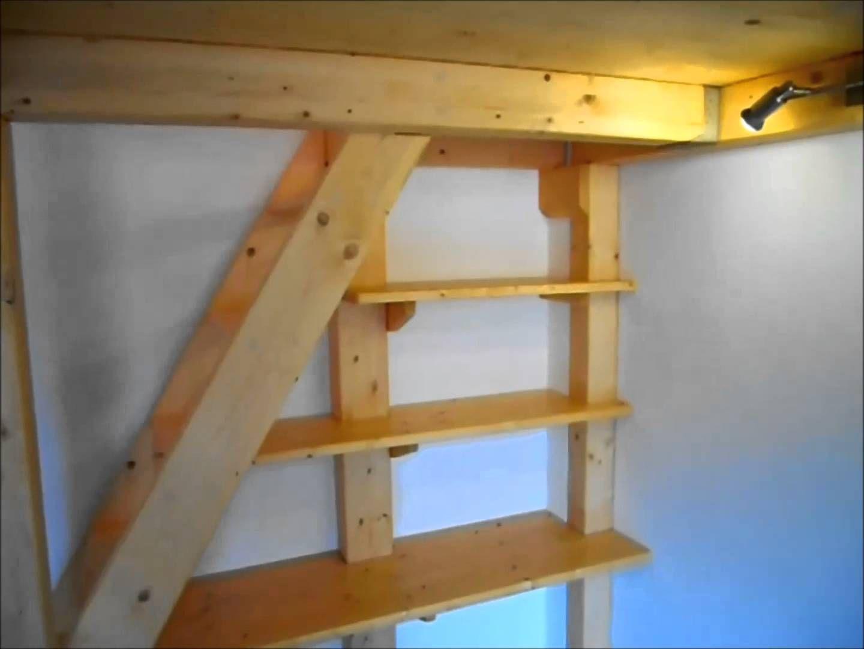 Letto soppalco legno fai da te cerca con google misti room bed e home decor - Letto soppalco legno ...