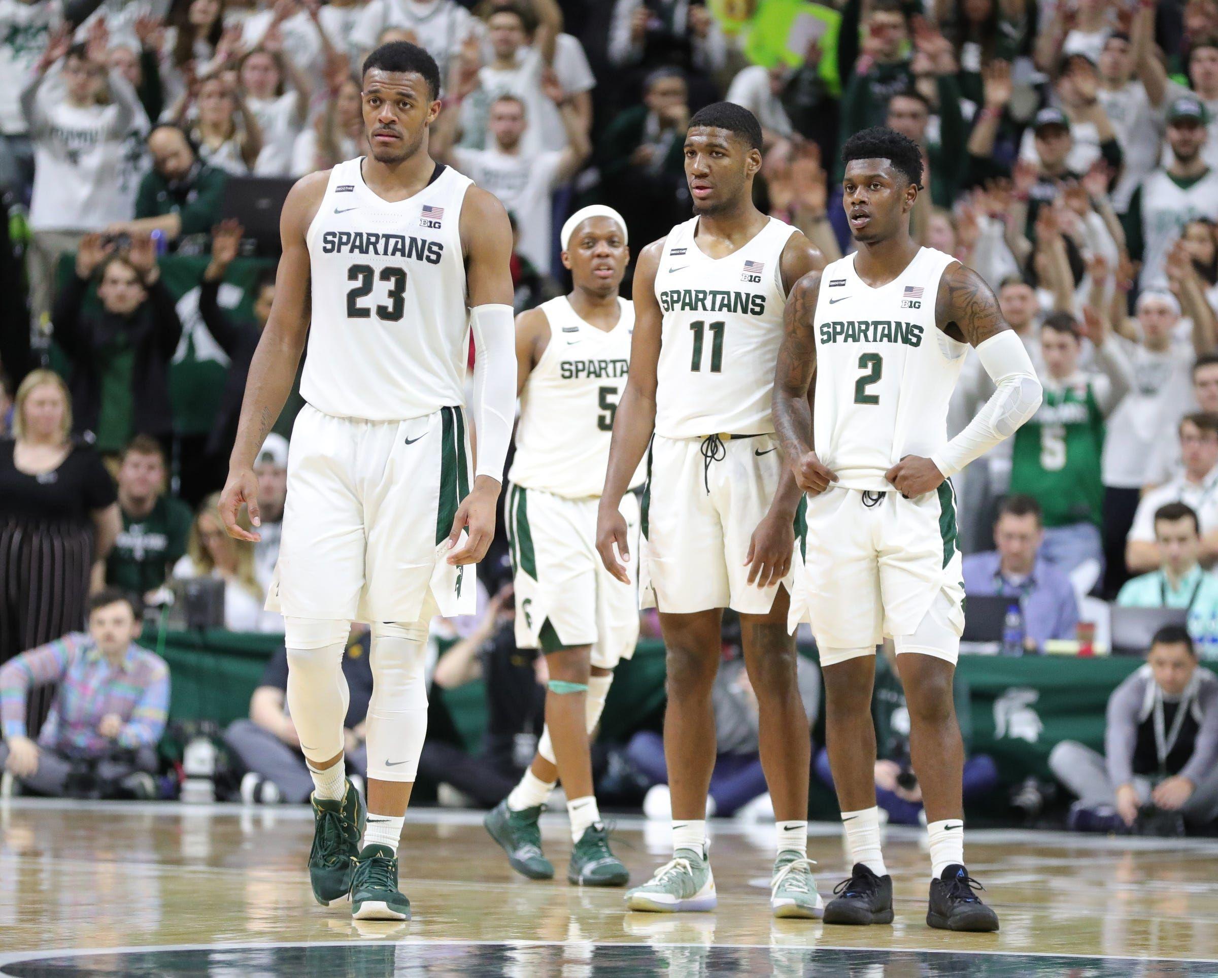 Michigan State Basketball Analyzing Who S Out Who S Back In 2020 21 In 2020 Michigan State Basketball Michigan State Spartans Basketball Michigan Sports