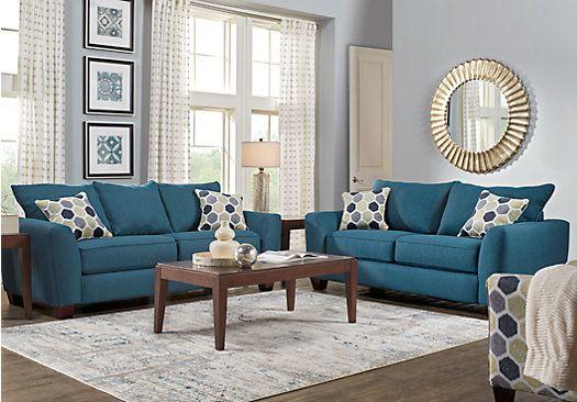 Bonita Springs 7 Pc Blue Living Room . $1,149.99. Find affordable ...