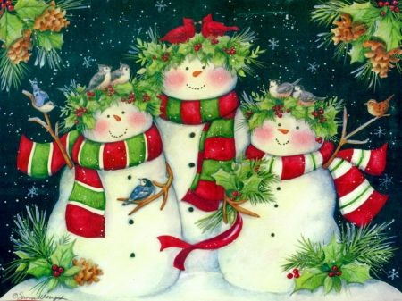 Personalized Boxed Christmas Cards 2020 Snowmen family   Desktop Nexus Wallpapers in 2020   Personalised