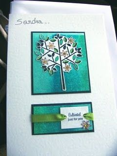 Birthday Card - mixed stamp sets