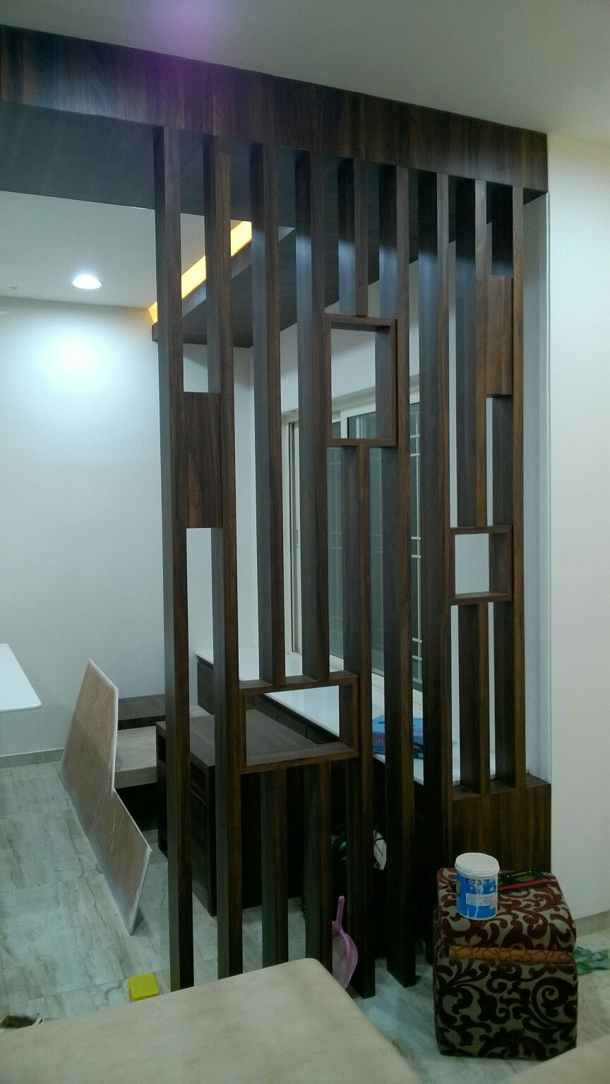 Best Living Room Partition By Vijay Shivam Furniture On 640 x 480