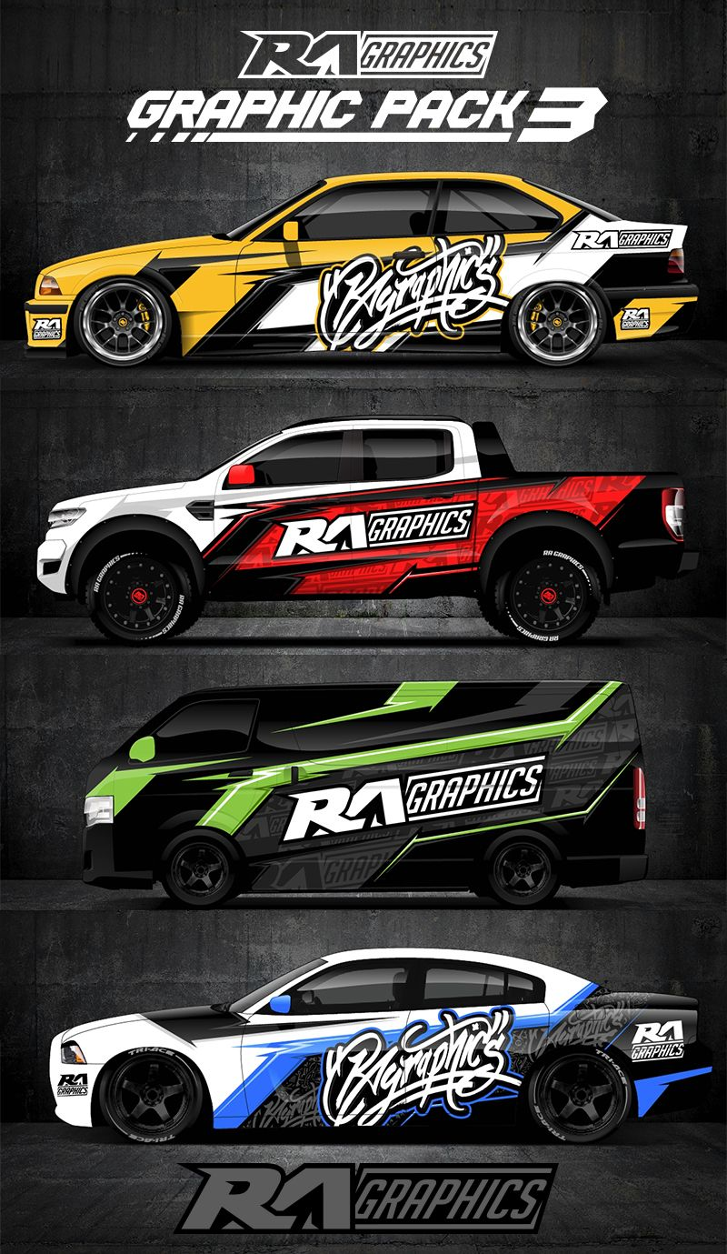 Ra Graphic Pack 3 Auto Graphics Car Wrap Cars Motorcycles
