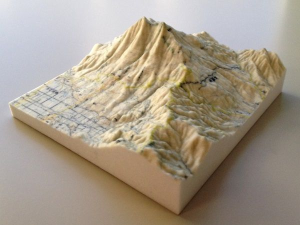 image about 3d Printable Terrain identify - Japan at the moment promotions free of charge 3D terrain maps for 3D
