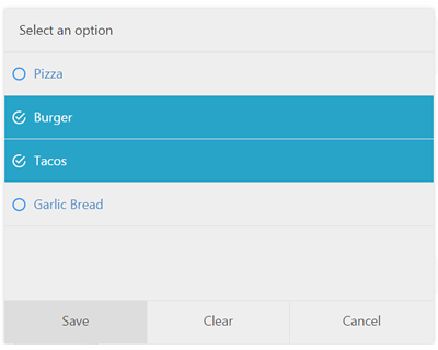 Bootstrap Fullscreen Select #jQuery #bootstrap #select