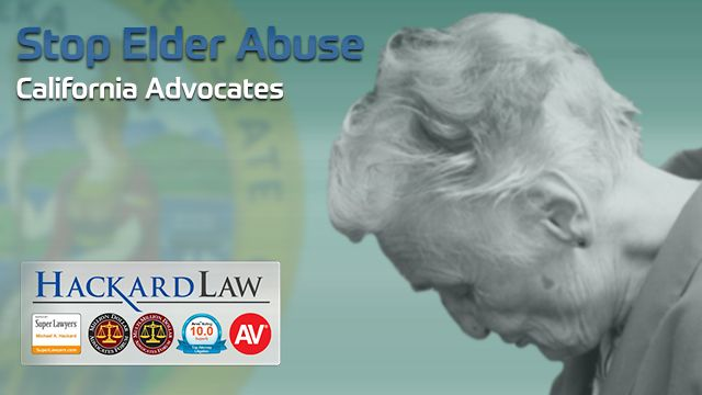Elder Abuse Is A Clear And Present Danger To California Seniors
