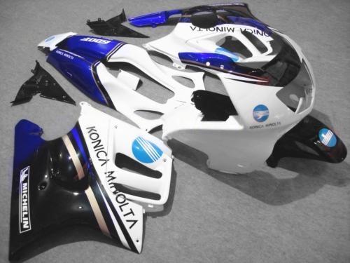 352.47$  Buy here - http://alif3h.worldwells.pw/go.php?t=32598318129 - Motorcycle Fairing kit for HONDA CBR600F3 95 96 CBR600 CBR600 F3 1995 1996 White blue black Fairings set+no tank cover HH07