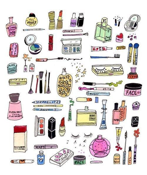 beauty products :)