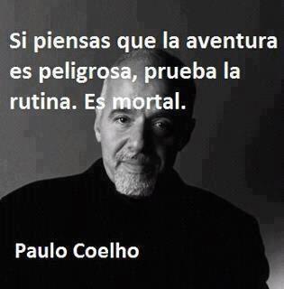 #Aventura #PauloCoelho #Rutina