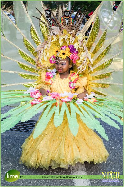 Kiddies Carnival Costumes for Trinidad 2015 are gorgeous