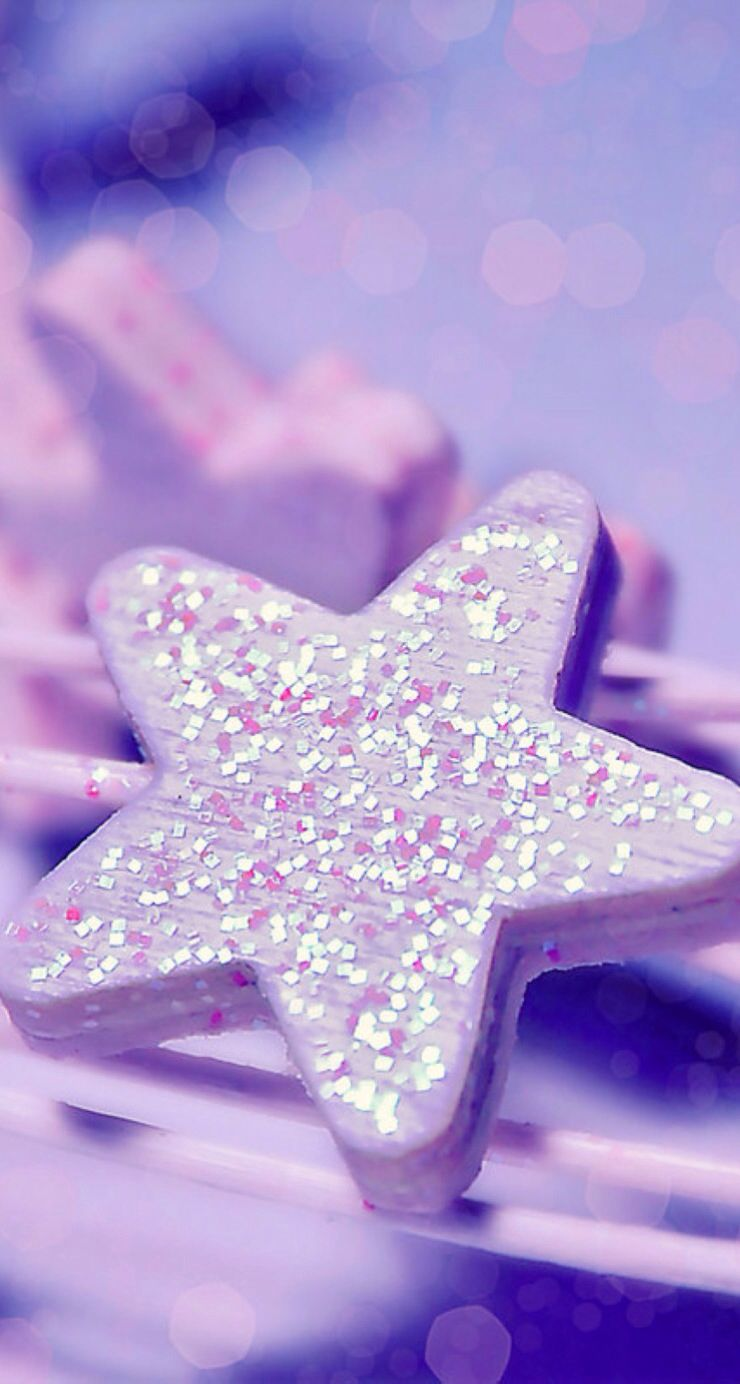 Glitter Star Cute Girl Wallpaper Iphone 5s Wallpaper Android