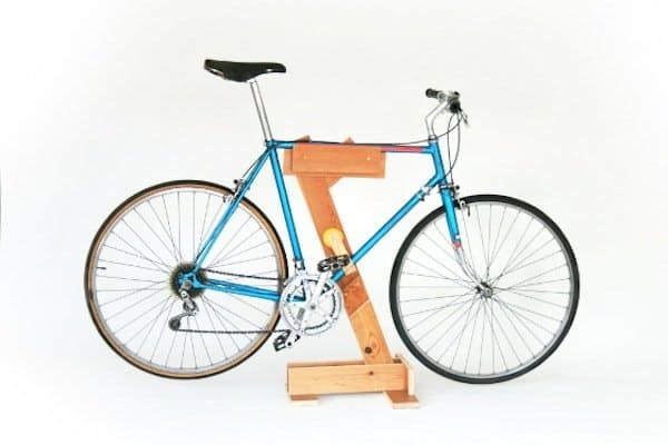 Ready To Roll Diy Ideas For Making Your Own Bike Stand Porte