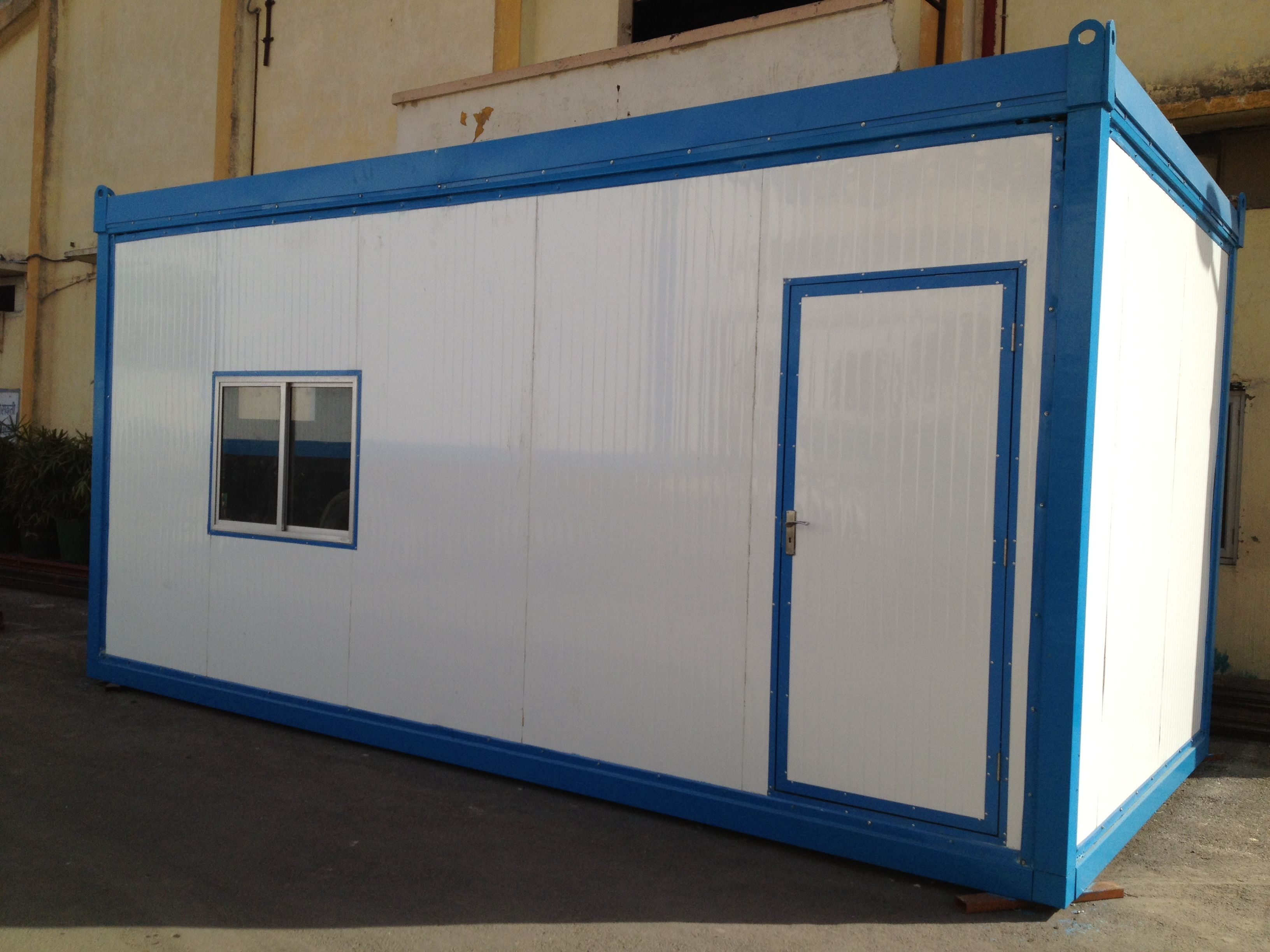 Porta Cabin Are A Great Solution To The Ever So Growing Demand Of Short Term Management And Residential Space E Prefabricated Structures Portable Cabins Cabin